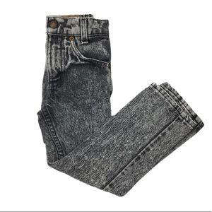 Levis 512 Acid Wash Dye Orange Tab Cotton Black